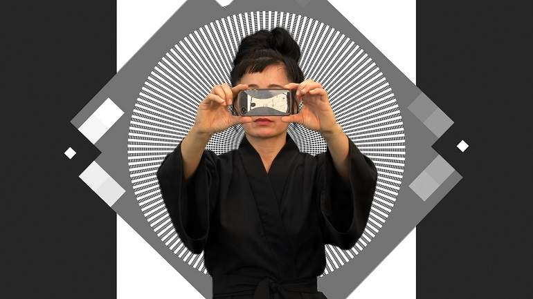 Hito Steyerl. How Not to Be Seen: A Fucking Didactic Educational.MOV File, 2013*. Courtesy the artist and Andrew Kreps Gallery, New York. Image courtesy Museo Nacional, Centro de Arte Reina Sofia, Madrid 2016.