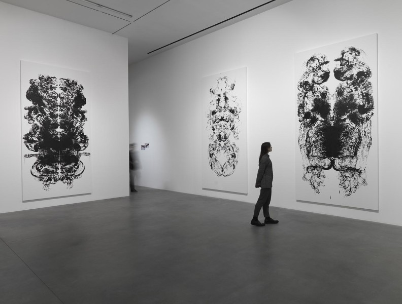 Mark Wallinger, ID, installation view, Hauser & Wirth London, 2016. Photo: Ken Adlard. © Mark Wallinger. Courtesy the artist and Hauser & Wirth.