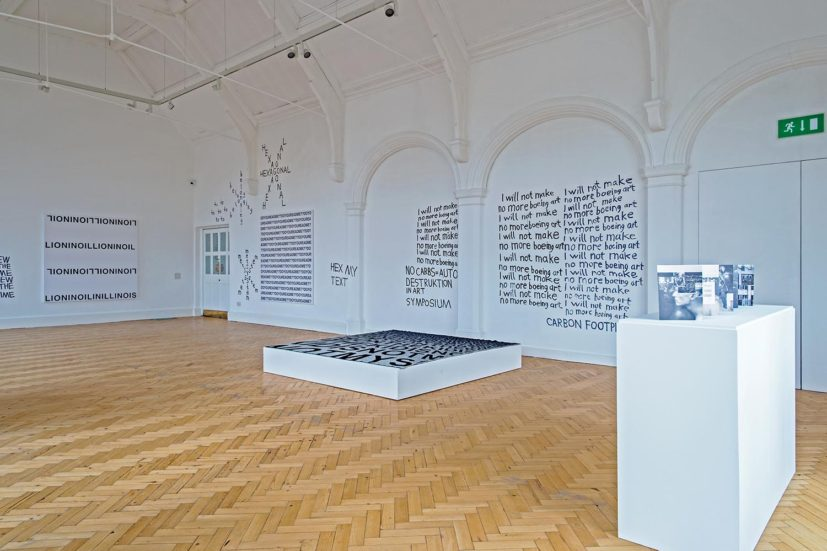 Karl Holmqvist, READ DEAR, installation view, Camden Arts Centre, 2016. Photo: Valerie Bennett. Courtesy dépendance, Brussels and Camden Arts Centre