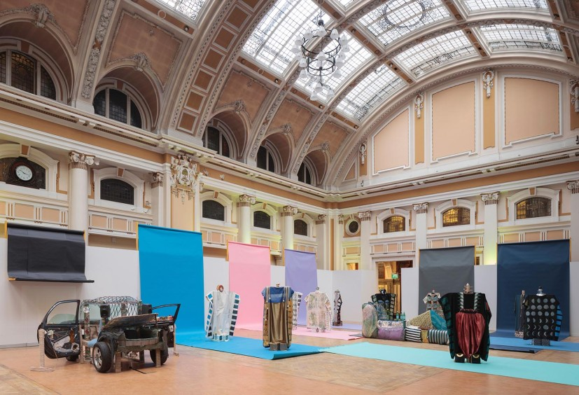 Tamara Henderson, installation view at Glasgow International Festival, 2016. Photo: © Ruth Clark