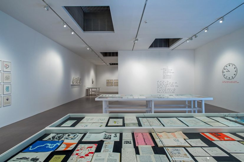 Franciszka & Stefan Themerson, Books, Camera, Ubu, installation view, Camden Arts Centre, 2016. Photo: Valerie Bennett