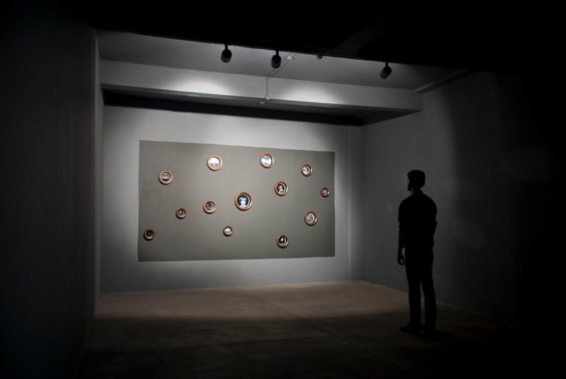 Tai Shani, Headless/Senseless, 2012, lenticular photographs and sound. Matts Gallery. Image courtesy the artist