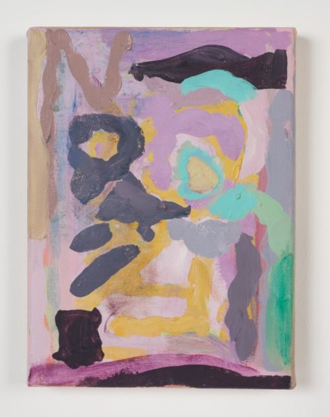 Victoria Morton, Dance, 2014. Oil on linen, 20 x 15 x 2 cm. Courtesy the artist.