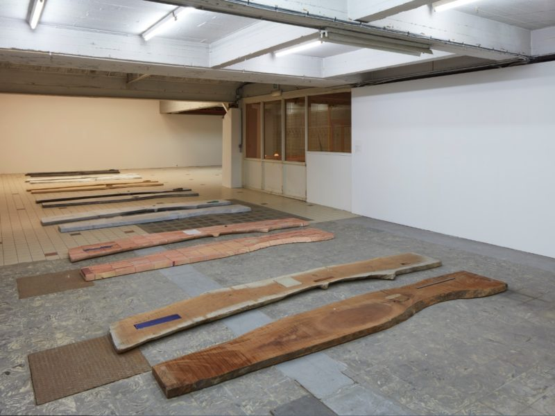 Lucy Skaer, 'Sticks and Stones (Part 1-7), 'Riddle of the Burial Grounds', installation view, Extra City Kunsthal, © Jan Kempenaers