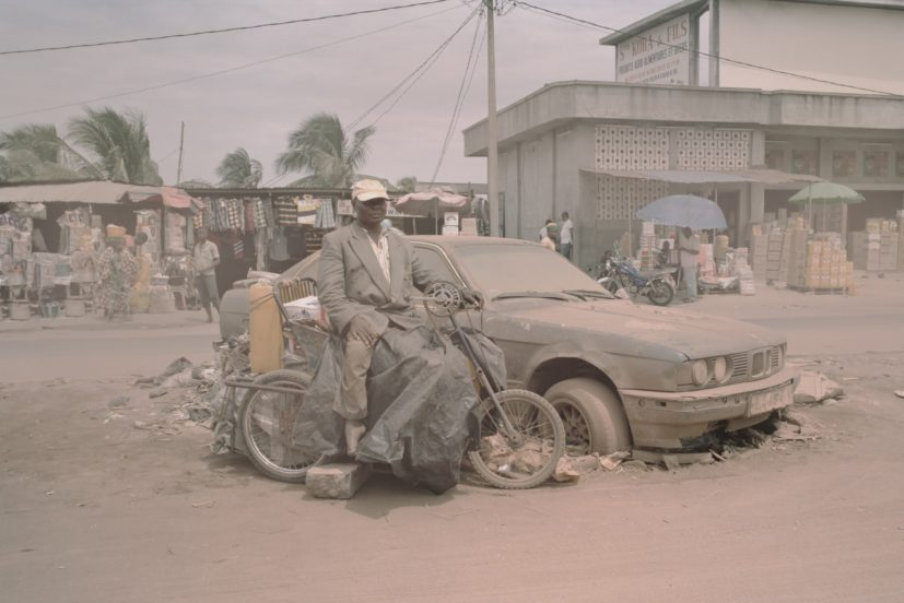 Leonce Raphael Agbodjelou, Borderlands, 2012. C - print, 150 x 100 cm. Edition of 6 + 2 AP