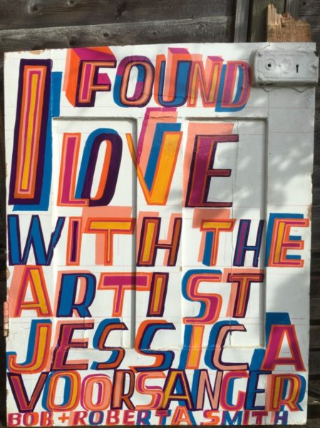Bob and Roberta Smith, 'I Found Love', 2016 -® Bob and Roberta Smith