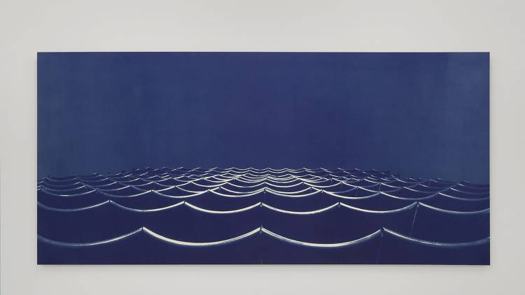 Bridget Smith, Blueprint for a Sea (infinity), 2015