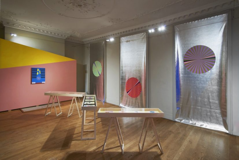 Installation view of Lothar Götz, Pas de Trois at DOMOBAAL. Photography Andy Keate, courtesy domobaal