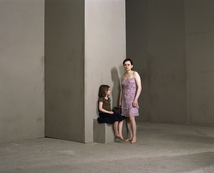 Sarah Dobai, Bella and Esmee from Studio / Location Photographs, 2011. C type photograph, edition 2/3. Image Courtesy Sarah Dobai