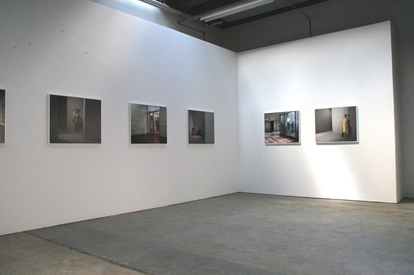 Sarah Dobai, Installation shot of Studio / Location Photographs, 2009. JPEG. Image Courtesy Sarah Dobai