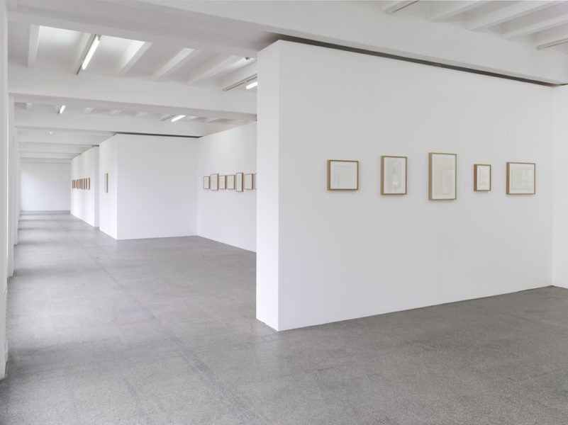 Installation view of Christiana Soulou, Sonnet to the Nile, Kolnischer Kunstverein, Cologne, Germany 28 Oct - 18 Dec 2016