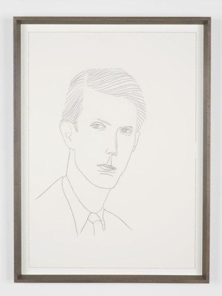 Lucy McKenzie, Anthony Blunt, 2011. Graphite on paper, 51 x 36 cm. © Lucy McKenzie. Courtesy Michael Bracewell