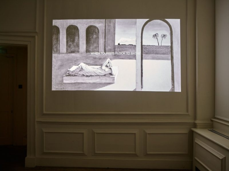 Installation view. Courtesy the artist and Frith Street Gallery, London. Photography: Steve White