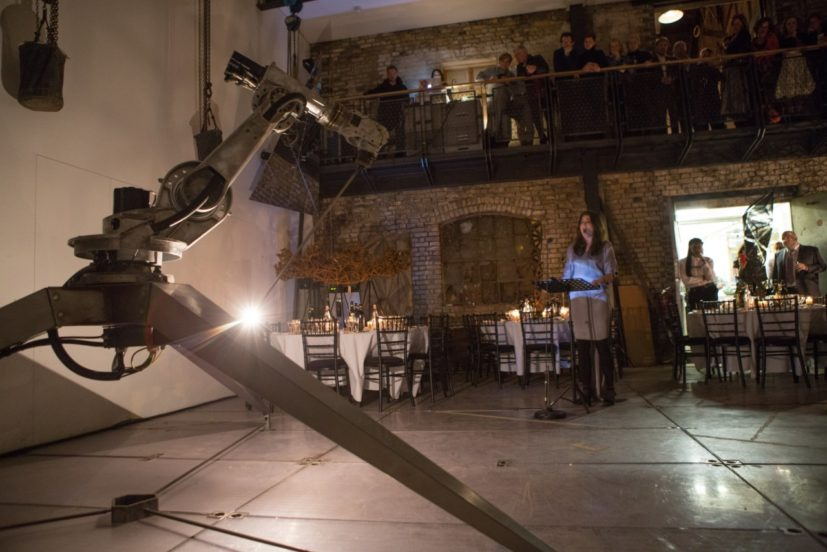 The Artist's Table with Conrad Shawcross, 23 February 2017