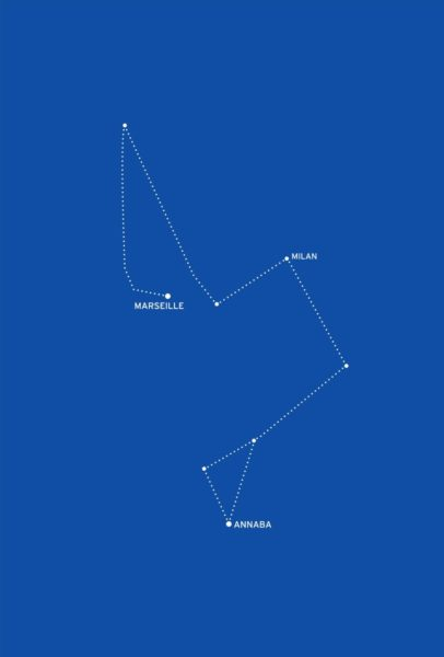 Bouchra Khalili, The Constellations Series, Fig. 1, 2011