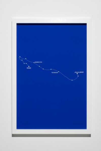 Bouchra Khalili, The Constellations Series, Fig. 6, 2011