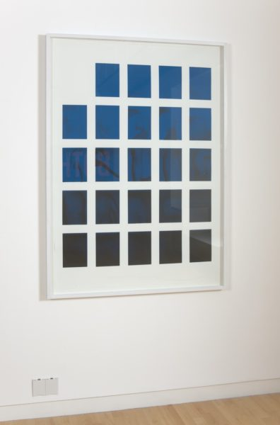 Scott Myles, STABILA (Black and Blue), 2009. © courtesy of the artist and The Modern Institute, Glasgow