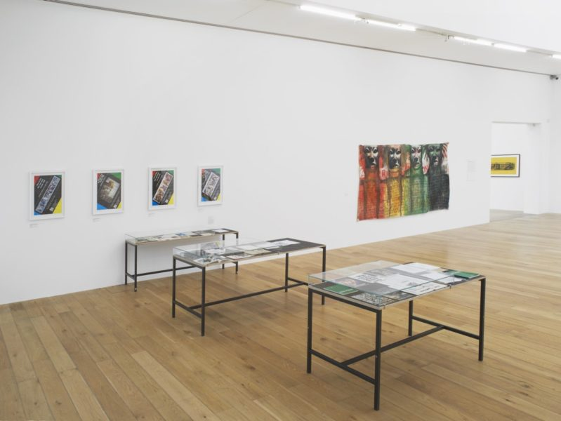 The Place Is Here, Nottingham Contemporary, 2017. Exhibition view. Photo Andy Keate.