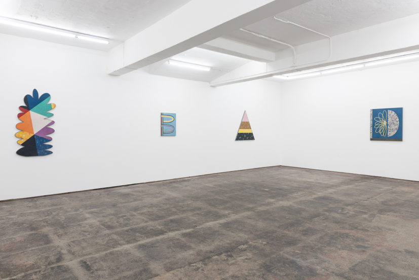 Installation view of Rhys Coren: Whistle Bump Super Strut at Seventeen Gallery. Courtesy of Seventeen Gallery. Photographer: Damian Griffiths