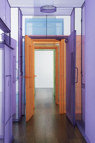 Installation view, Do Ho Suh: Passage/s, 1 February – 18 March 2017. Courtesy of the Artist, Lehmann Maupin, New York and Hong Kong, and Victoria Miro, London (Photography Thierry Bal) ©Do Ho Suh