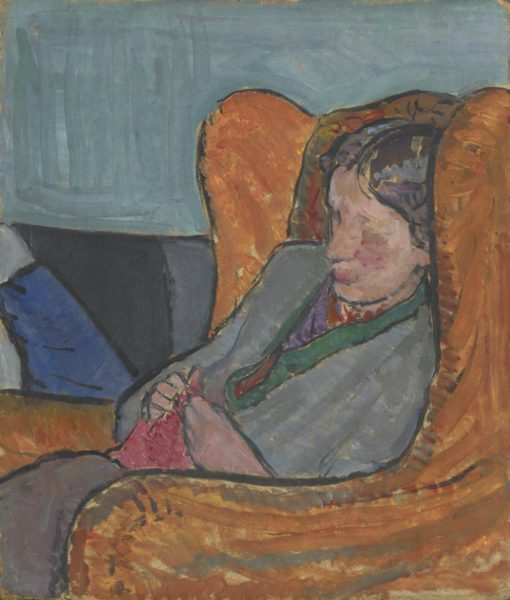 Vanessa Bell, Virginia Woolf, c. 1912, oil on board, 40 x 34 cm, National Portrait Gallery, London, NPG 5933. © National Portrait Gallery, London