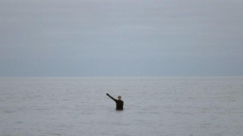 Isabella Martin, North Sea Semaphore, 2017. Commissioned by Film and Video Umbrella. FVU is supported by Arts Council England.