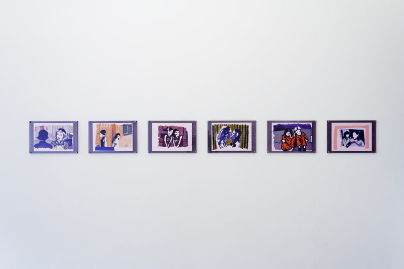 AND NOW…GRANTS FOR IRISH LESBIANS! Installation view. Alice May Williams, photo: Cameron Leadbetter, Courtesy Tintype