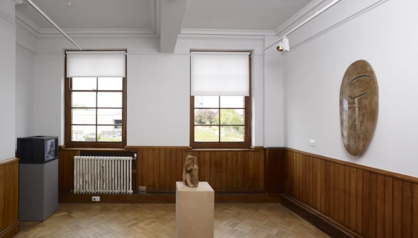 Installation shot of work by Kenneth Armitage in Refinding: Jessie Flood-Paddock with Kenneth Armitage, at The Tetley, Leeds 2017. Image courtesy of the Kenneth Armitage Foundation Collection and The Tetley. Photo: Michael Pollard