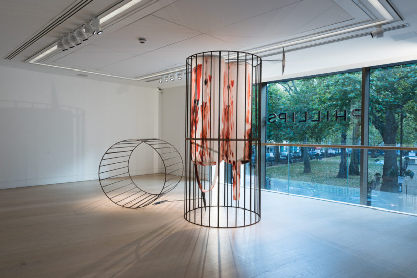 Image: Installation view of Women to Watch UK: Metal at Phillips, 14 - 21 November 2017. Courtesy of Phillips.