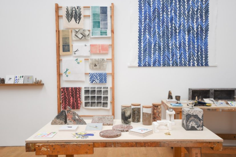 Installation view of 'Assemble, Granby Workshop, Products and Processes'. Photograph by Jason Hynes, courtesy of Middlesbrough Institute of Modern Art.
