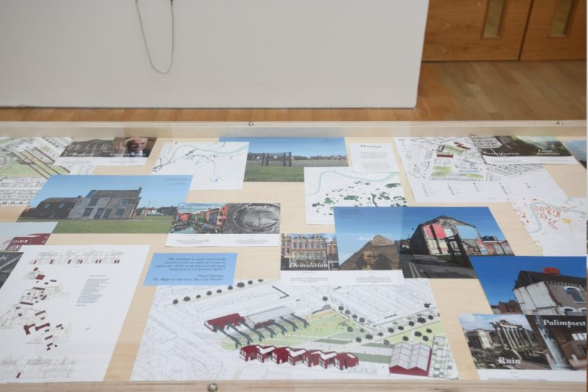 Installation view of The Housing Question. Photograph by Jason Hynes, courtesy of Middlesbrough Institute of Modern Art.