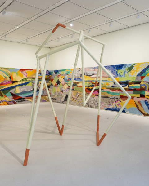 Image: Installation view of Isabel Nolan: Another View from Nowhen at Bloomberg SPACE. Courtesy of the Artist and Kerlin Gallery.