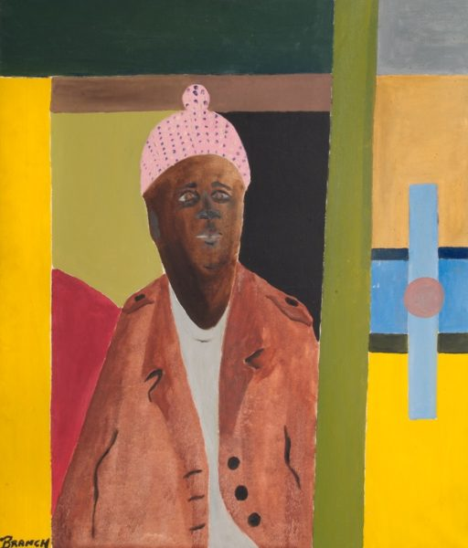 Winston Branch, West Indian, 1973. Oil on canvas, 105 x 90.2cm ® the artist. Photo credit - Rugby Art Gallery and Museum Art Collections