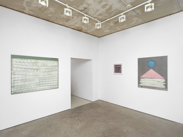 Installation view of Clive Hodgson at Arcade. Courtesy of Arcade