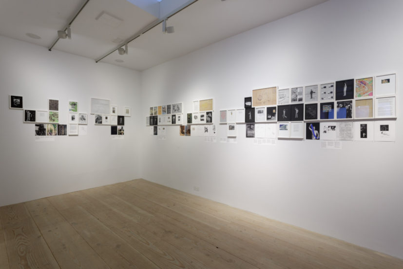 Ala Younis, Plan for Feminist Greater Baghdad exhibition installation view, 2018. Photo Tim Bowditch. Courtesy Delfina Foundation and Art Jameel