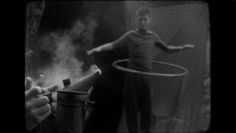 Still from Fourthland and Rosalind Fowler, 'I feel like doing this', 2017. 16mm film, 17 mins.
