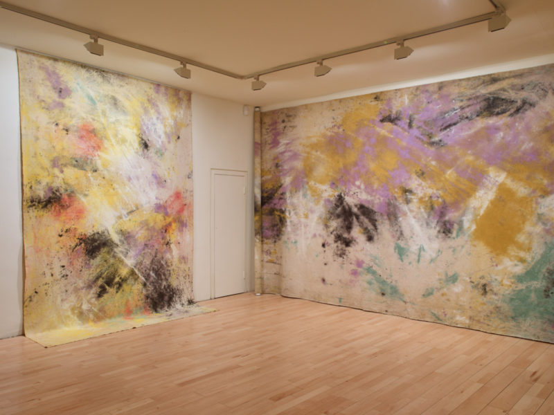 Installation view of Secret of the Landscape at Frith Street Gallery. Courtesy the Artists and Frith Street Gallery; Photo: Steve White