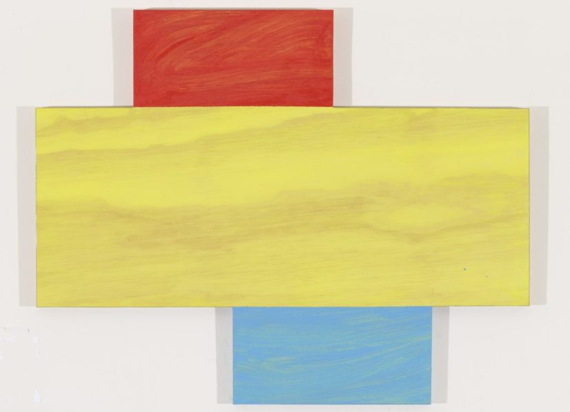 Mary Heilman, Idriss, 2012. Oil on wood panel, 61 x 76 cm. © Mary Heilmann Courtesy the artist, Hauser & Wirth, Zurich and 303 Gallery, New York