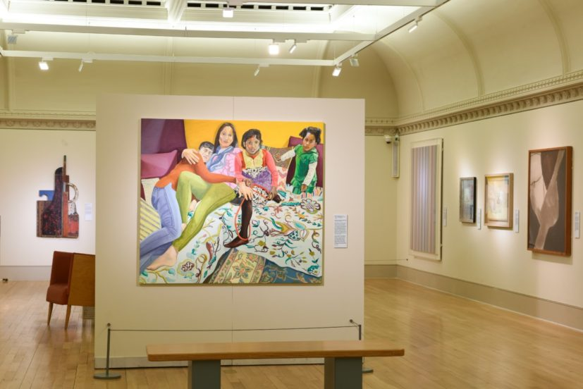 Installation view of 'Visible Women' at Norwich Castle Museum & Art Gallery. Image courtesy Norwich Castle Museum & Art Gallery