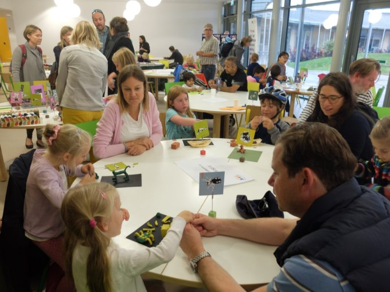 ArtScapers workshop during Open Eddington 2017. Image © Cambridge Curiosity and Imagination