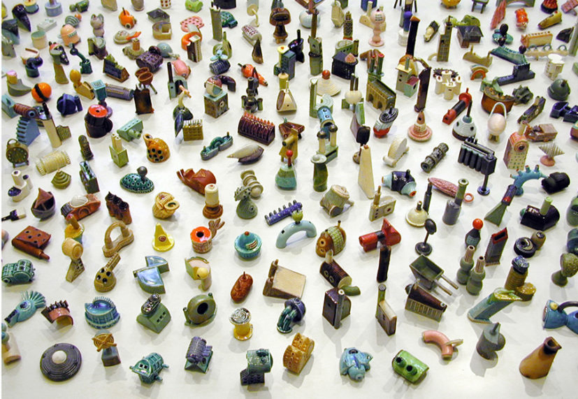 Lubna Chowdhary, Metropolis, 1991. Ongoing Multi Object Work