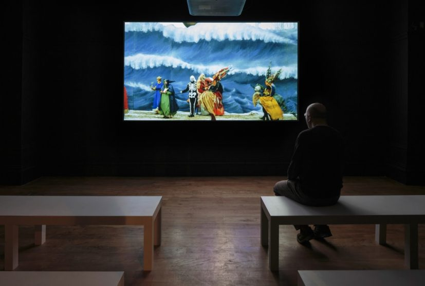 Installation view of Still Moving: The films and photographs of Ulrike Ottinger, The Hunterian, University of Glasgow (20.4.18-29.7.18). Photography by Ruth Clark. All works copyright of the artist.