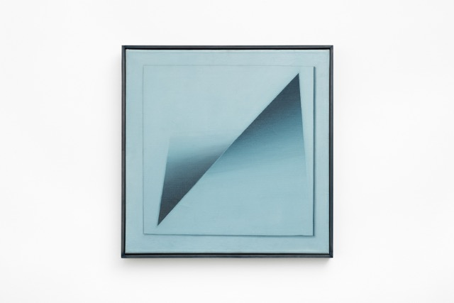 Jef Verheyen, Trompe l'oeil, circ. 1976, oil on canvas, 65 x 65 cm, 25 5/8 x 25 5/8 ins. Photo: Robert Glowacki. © Jef Verheyen. Courtesy Stuart Shave/Modern Art, London