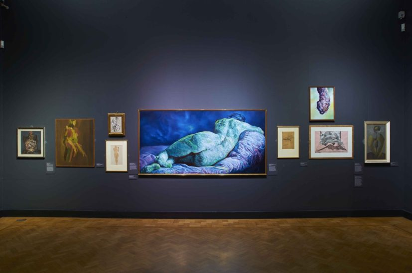 Shot of Glenn Brown: Fantasy Landscapes. Portraits and Beasts at Laing Art Gallery - shot by Jack Cornish.