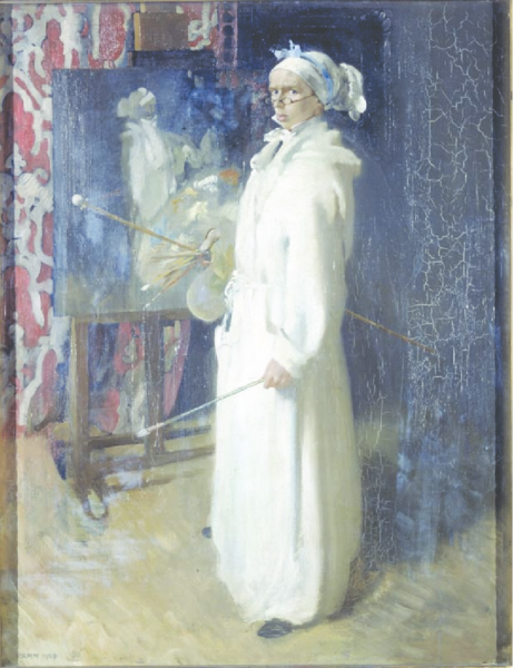 William Orpen, 'Self Portrait as Chardin', 1902. Courtesy of the Laing Art Gallery