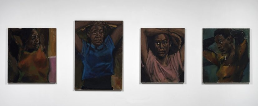 Lynette Yiadom-Boakye, A File For A Martyr To A Cause, 2018, courtesy Lynette Yiadom-Boakye; Corvi-Mora, London; Jack Shainman Gallery, New York