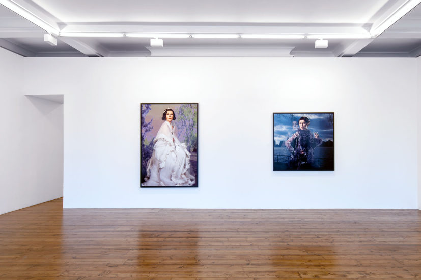 Installation view, Cindy Sherman, Sprüth Magers, London, 5 June - 1 September 2018. Courtesy Sprüth Magers. Photography by Voytek Ketz