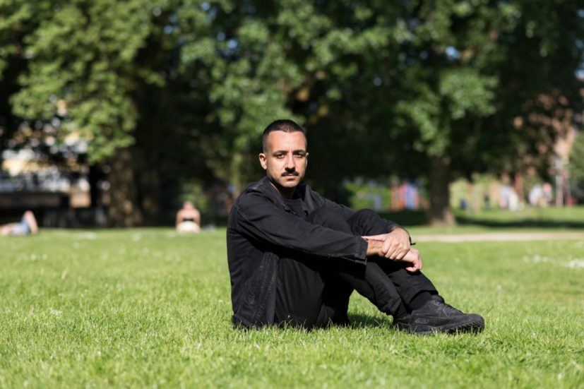 Prem Sahib in Vauxhall Park. Photo: Thierry Bal, Courtesy Art Night 2018 and the artist