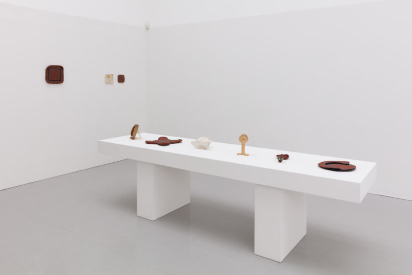 Installation view of J.B Blunk at Kate MacGarry. Courtesy Kate MacGarry, Photography: Angus Mill