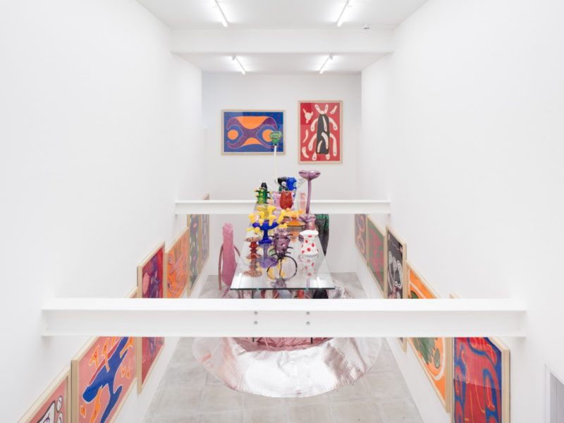 Installation view of 'Nicholas Pope: Sins and Virtues' at The Sunday Painter. Image courtesy of the artist and The Sunday Painter. Photographer: Lewis Ronald